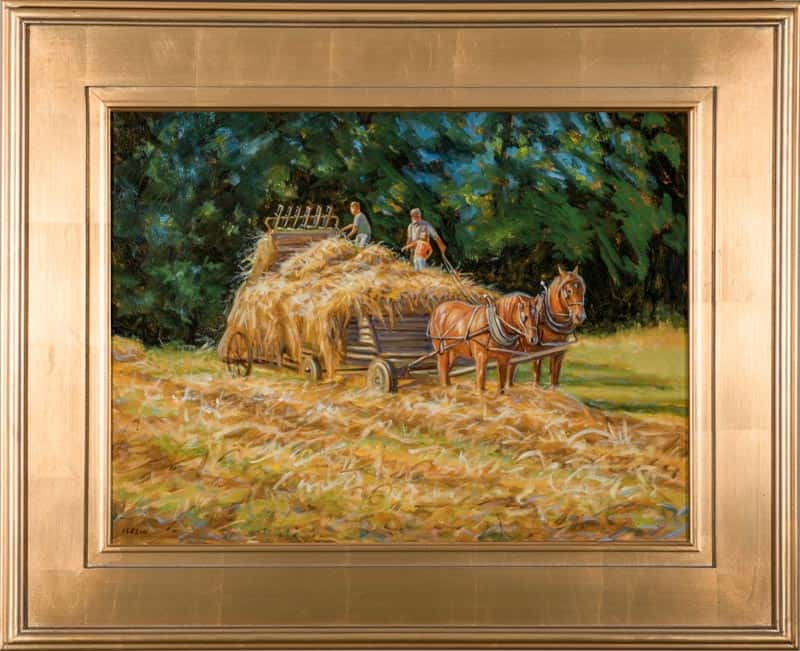 Up In The Loads Of Hay by Mary Iselin
