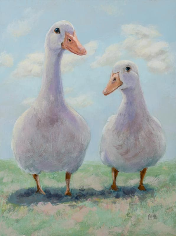 Geese By Caryn King