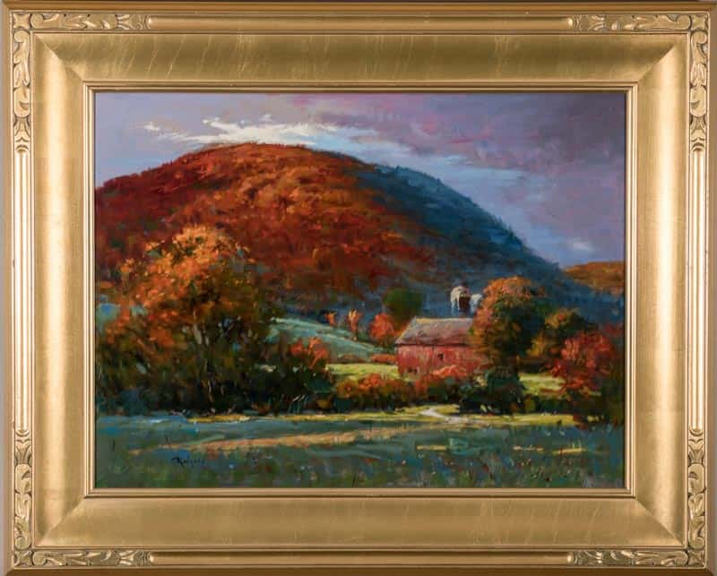 Fall Afternoon In Pawlet/3207 By Jim Rodgers