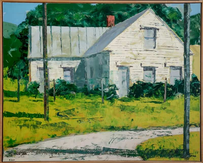 Old House By Ken Rush